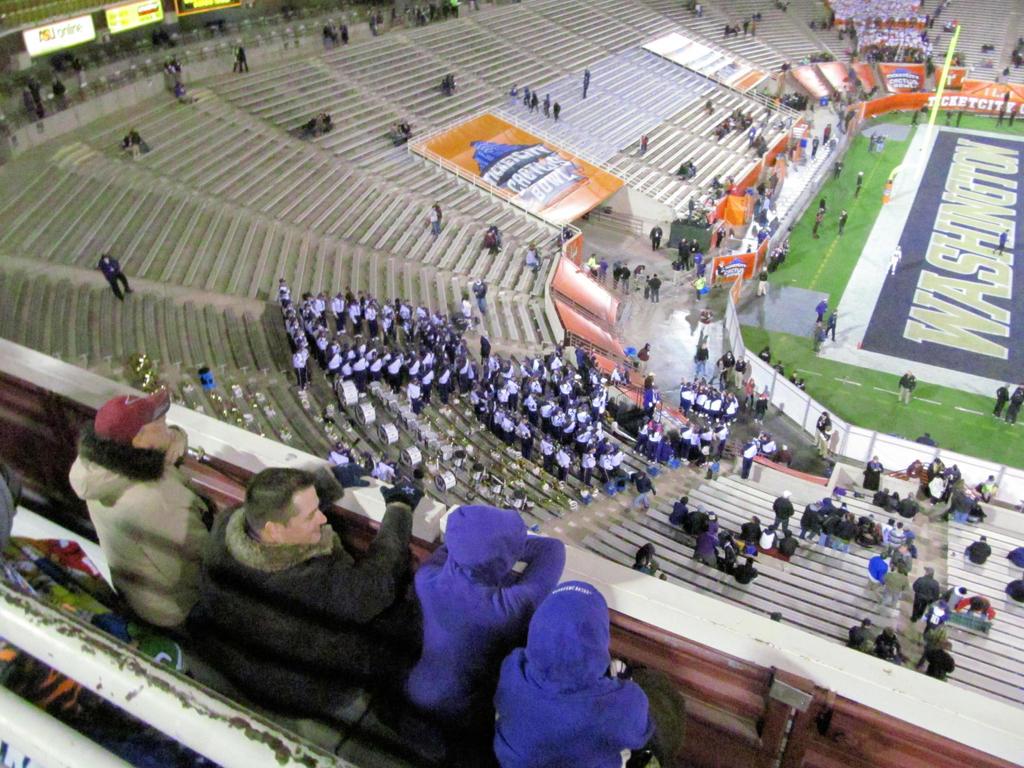 University of Washington Husky Marching Band by BigMac1212