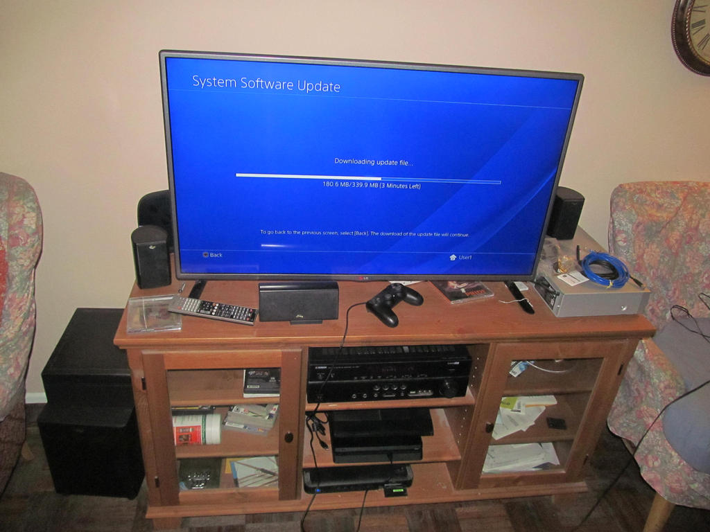 My March 2017 Home Theater Setup With Ps4 By Bigmac1212 On