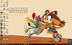 Sticks the Badger Wallpaper 2 by BigMac1212