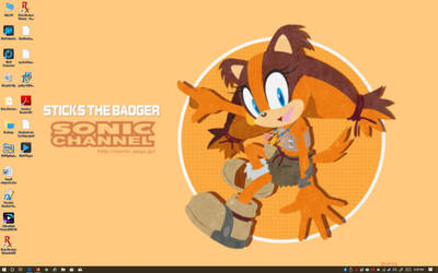 2018 Stick the Badger Wallpaper by BigMac1212