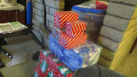 My 2019 Presents Wrapped 1
