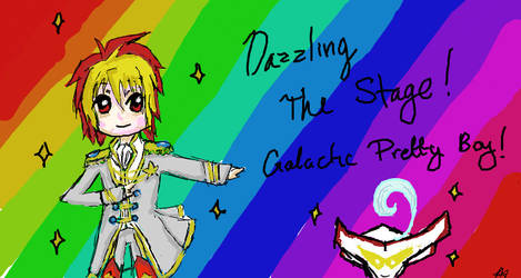 Dazzling The Stage - Scribble