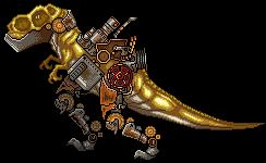 SteamPunk T-Rex by CaTZStudio