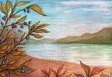 Okanagan Autumn by toonishdreams