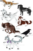 [FOR SALE]7$ Emergency Cheap Adopts! [3/7 OPEN] by SaskedieJagerin