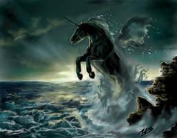 Stormy Seas by alexandrabirchmore