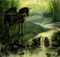 I Dream in Golden Green by alexandrabirchmore