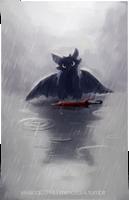 In a rainy world by wispywaffle