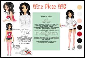 My One Piece OC -Kaura by xKAURAx