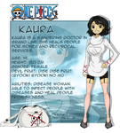 My OP OC -Kaura  (new reference sheet)