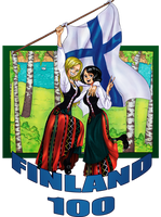 Independent Finland 100 years! by xKAURAx