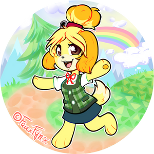 isabelle in smash? its more likely than you think