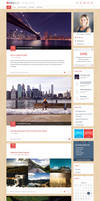 NiceBlog WordPress Blogging Theme by Dezinethemes