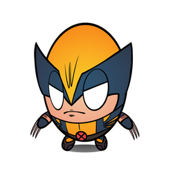 Wolverine Astonishing Eggisare by Eggisare