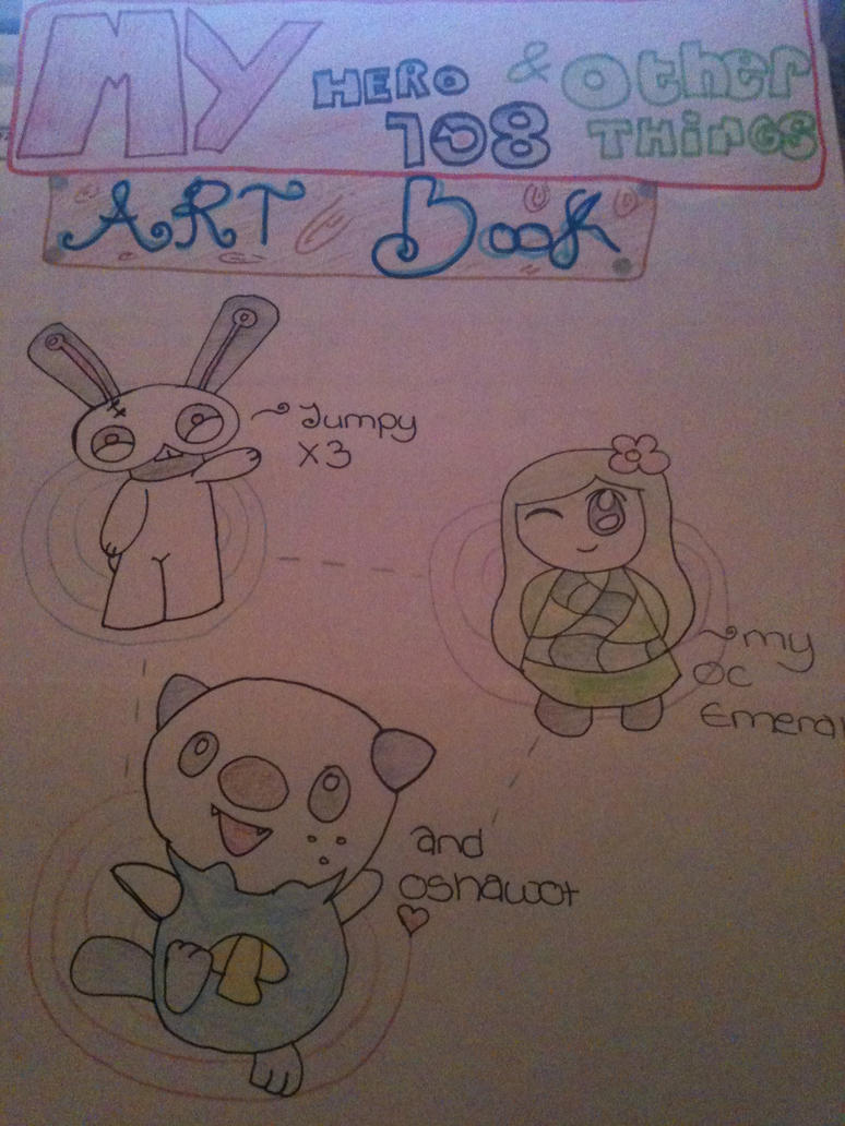 My Art Book Cover : My art book cover new by jem r on deviantart