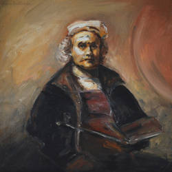 Rembrandt by Halyna-Venhlinska