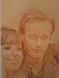 Alexander Skarsgard and lucky me by kururu