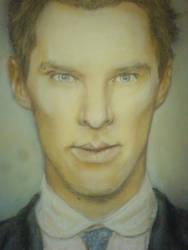 Benedict Cumberbatch by kururu