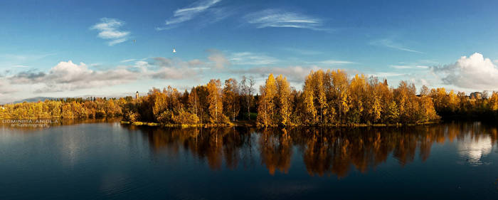 Autumn in Oulu by DominikaAniola
