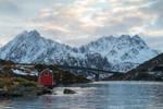 Lofoten winter by DominikaAniola