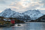 Lofoten winter by DominikaAniola