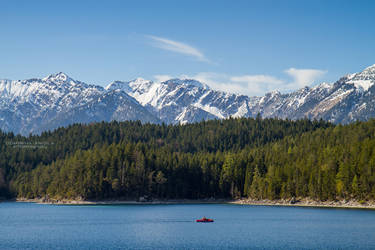 Eibsee Lake by DominikaAniola