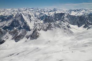 Snowy Alps by DominikaAniola