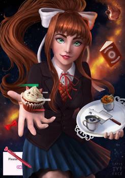 Monika | Doki Doki Literature Club