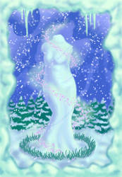 Snow Venus by CartoonEtiquette