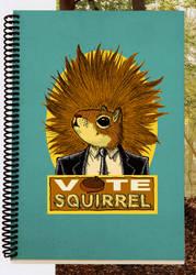 Vote Squirrel project 1 by CartoonEtiquette