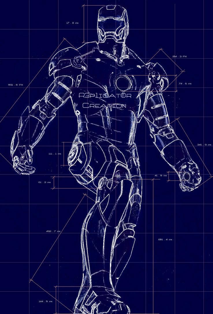 ironman suit blueprint by r3p1icat0r on deviantart rh deviantart com iron man schematics poster iron man suit schematics pdf