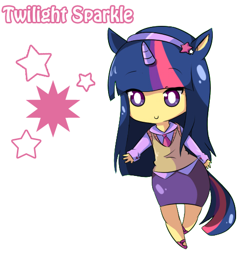 MLP Mane six - Twilight~ by Vitele37