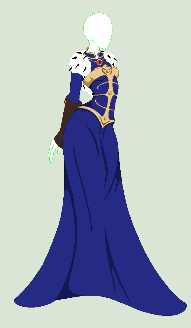 Royal Queen Outfit Adoptable {Open} by HayleyRoseGirl on ...