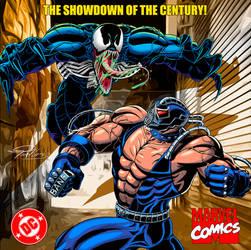 Marvel VS DC - Venom vs  Bane