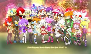 Happy New Year! Giftie +FULL VIEW+ by Pan-cakuu