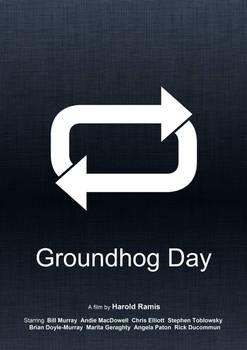 Groundhog Day (Minimal Movie Poster)