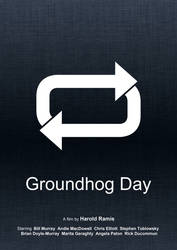 Groundhog Day (Minimal Movie Poster) by Bnxtd