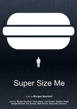 Super Size Me (Minimal Movie Poster)
