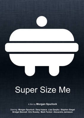 Super Size Me (Minimal Movie Poster) - 2