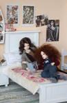 Stella's room - girl stuff