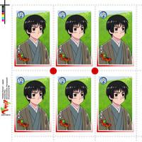 Hetalia Stamps - Japan by Dreamweaver38