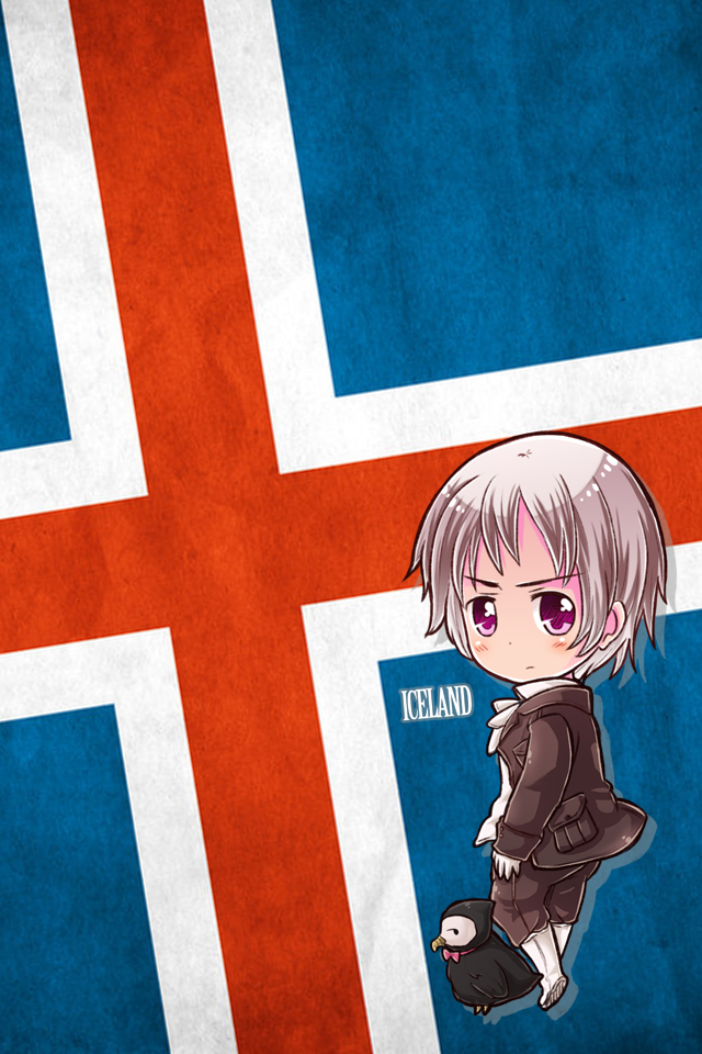 Hetalia iWallpapers - Iceland by Dreamweaver38
