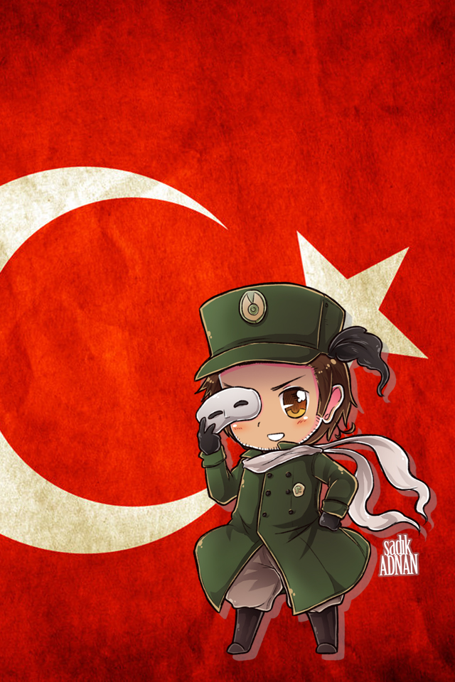 Hetalia iWallpapers - Turkey by Dreamweaver38