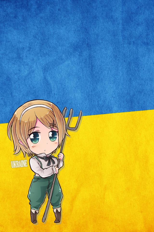 Hetalia iWallpapers - Ukraine by Dreamweaver38