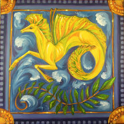 Hippocampus in Oil