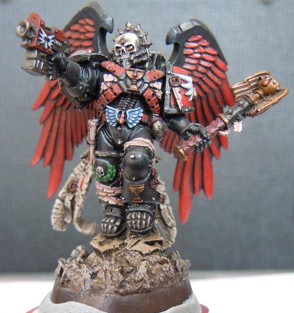 Warhammer 40k death company wallpaper -  Wip Blood Angels Death Company Chaplain Lemartes By Ironkobra