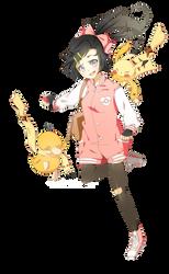 Pokemon OC - Edith by cherriuku