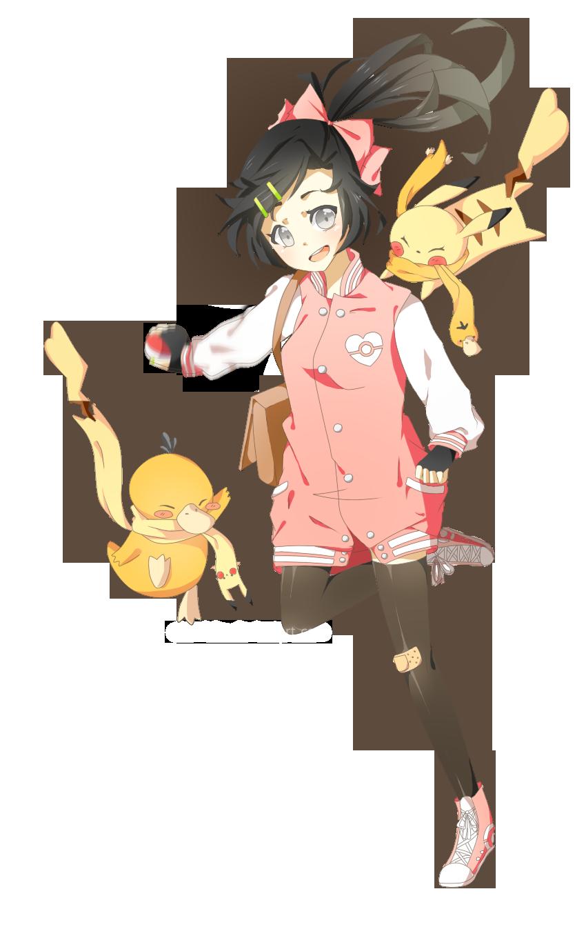 Pokemon OC - Edith by cherriuku on DeviantArt