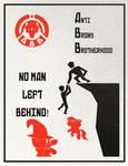 Anti Brony Brotherhood Poster: No Man Left Behind!