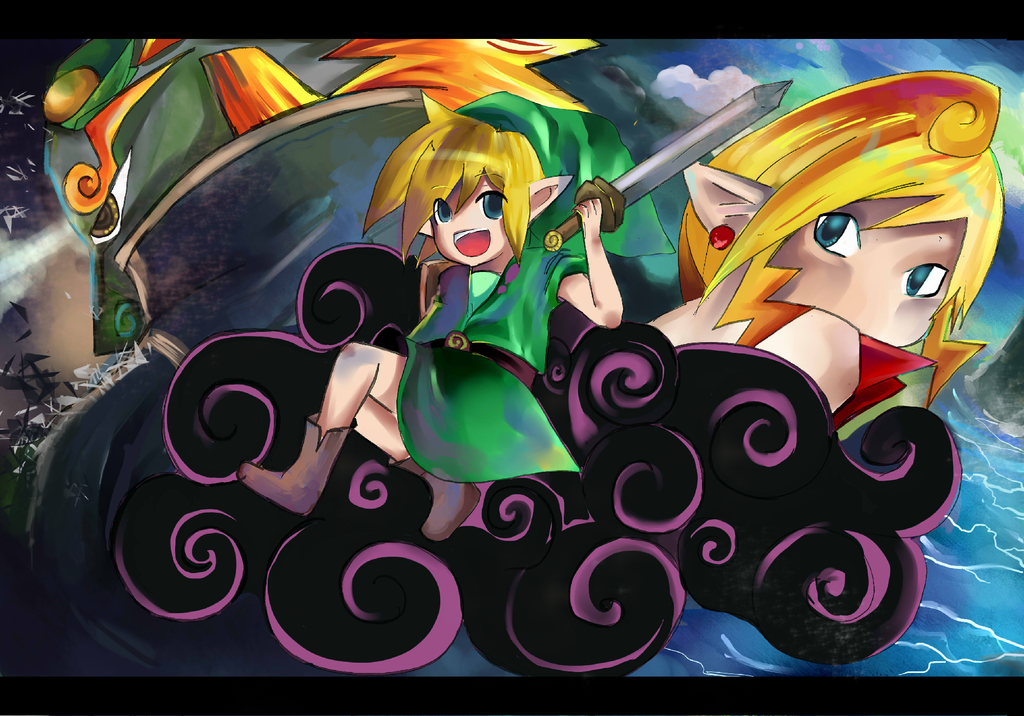 TLoZ Take To The Sea by aki-T